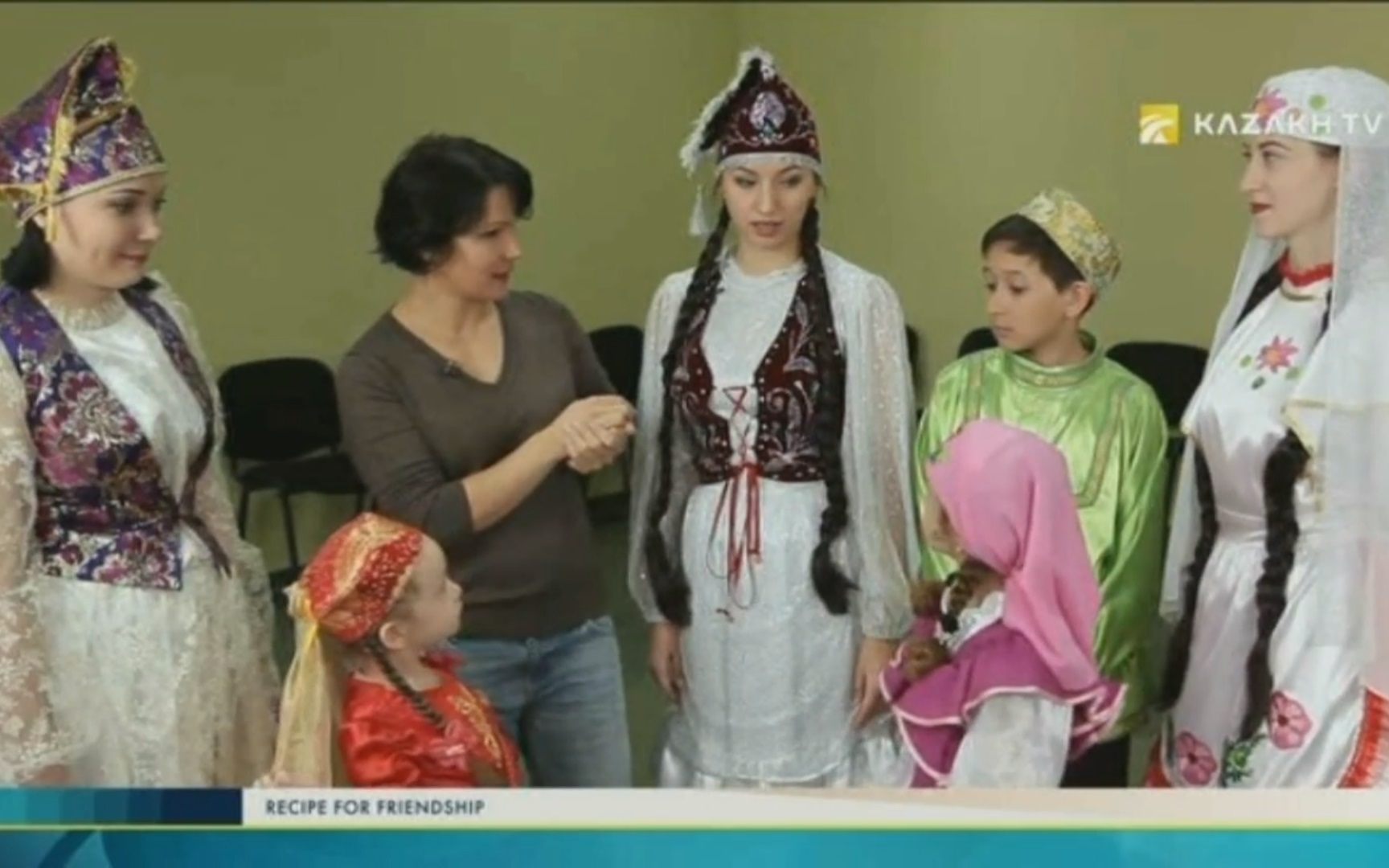 The culture of the tatars of Kazakhstan