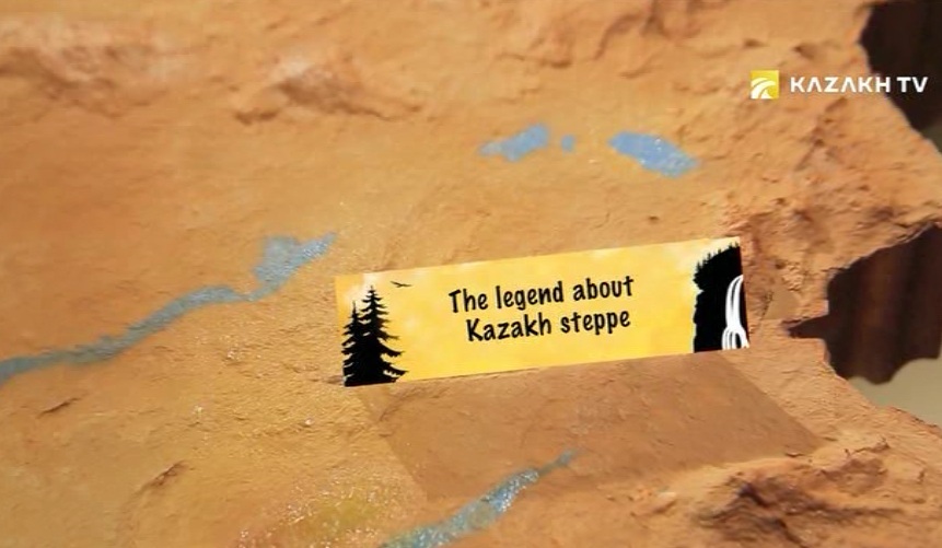 The legend about Kazakh steppe