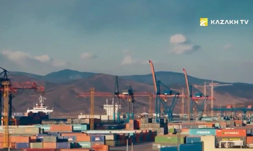What the logistics market of Kazakhstan is short of?