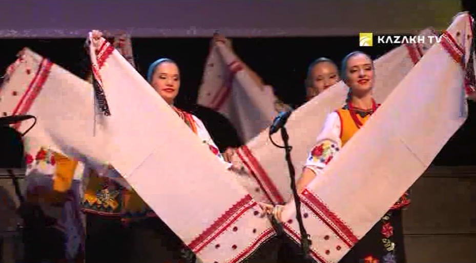 Festival of Ukrainian folk art in Astana
