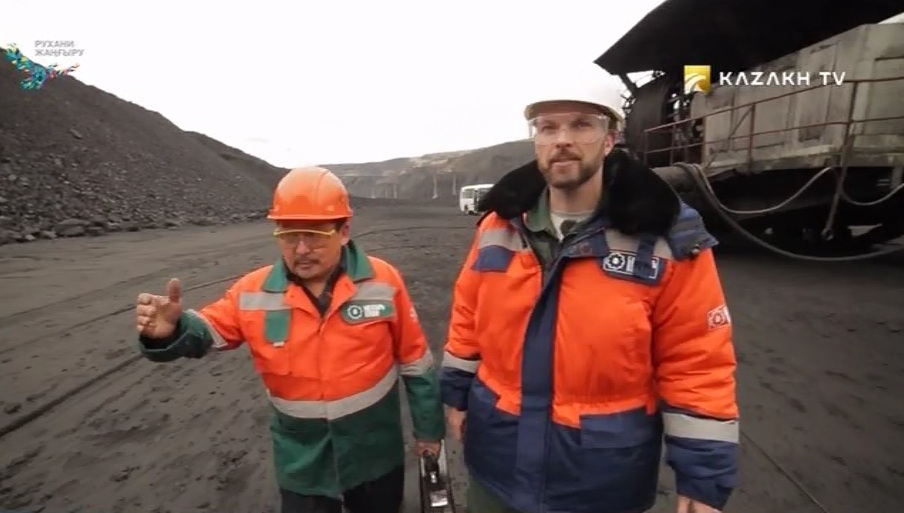 Where Kazakhstan's largest coal deposit is