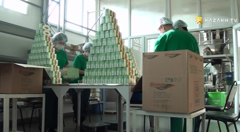 South Kazakhstan increases production