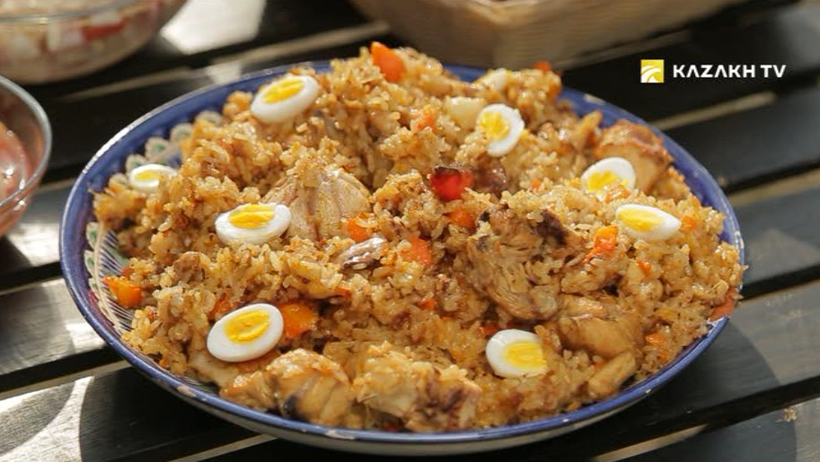 How too cook tasty Pilaff with chicken and pumpkin?