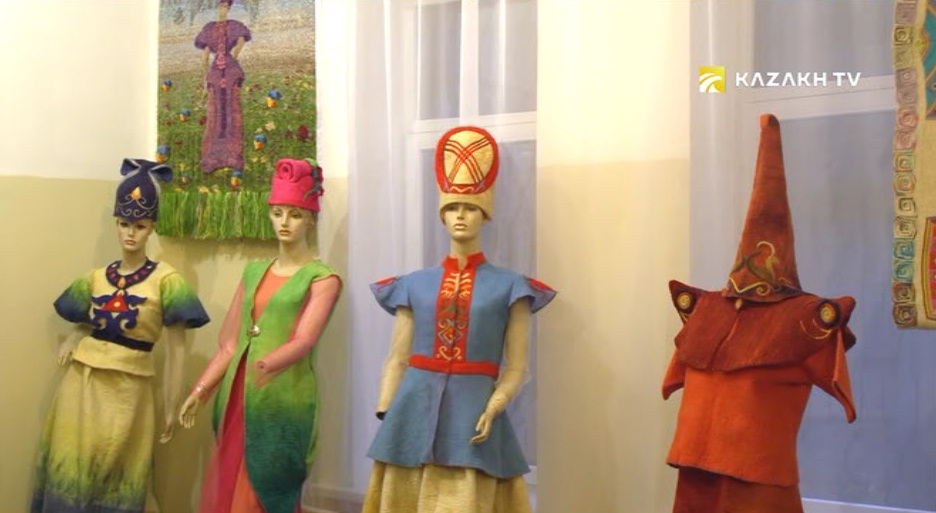 Kazakh national clothing culture