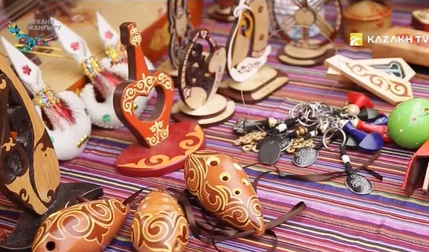 The National art crafts of Kazakhstan