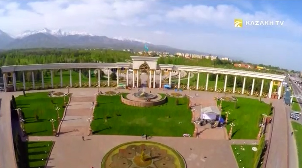 The park of The First President in Almaty