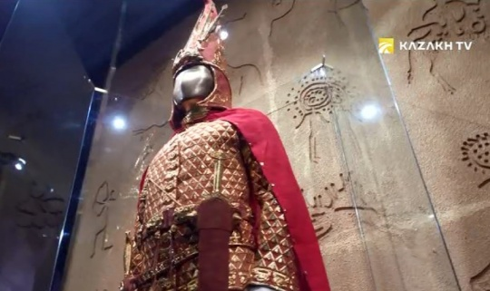 The Golden Man tours to museums around the world