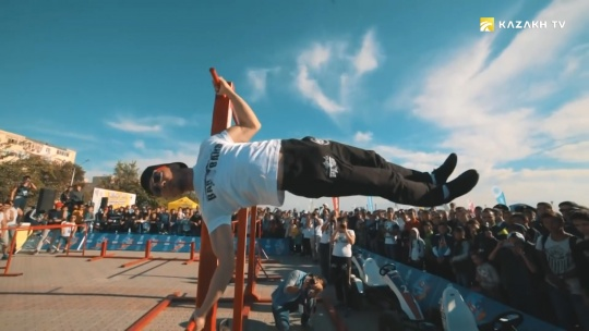 Aitym Zhakupov about the popularity of street workout in Kazakhstan