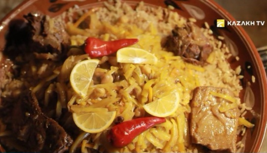 Samarkand's pilaf is the choice of a true gourmet
