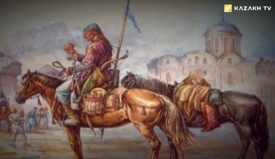 When and why did the soldiers of Desht-i-Kipchak come to Belarus?