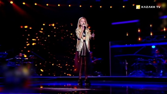Danelia Tuleshova. Girl conquering the voice of the world