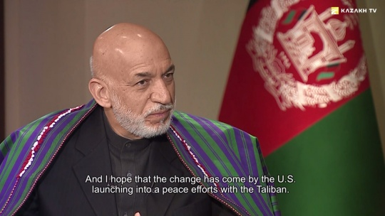 Hamid Karzai: Regional and International Efforts to Restore Peace in Afghanistan