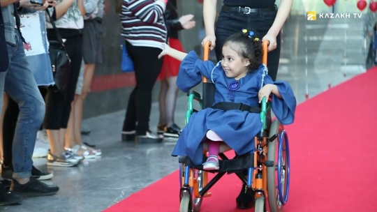 Astana is a comfortable city for people with disabilities