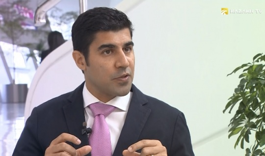 Parag Khanna: Smart city project in Astana