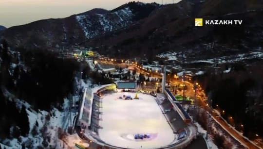 How legendary high-mountain rink Medeo was built?